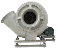 YJF glass steel centrifugal fan