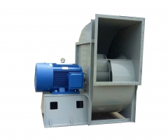 YHS aluminum alloy wing type single inlet centrifugal fan
