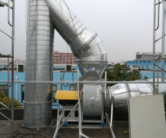 Spraying project of a processing plant in Shanghai